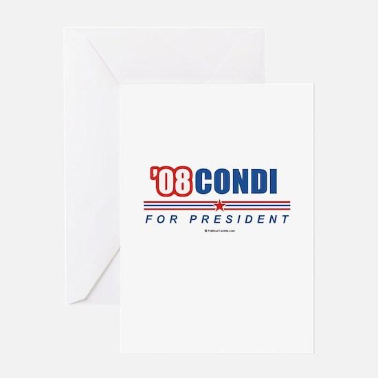 Condi 08 Greeting Card