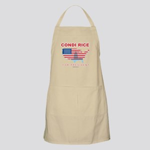 Condi Rice for President BBQ Apron