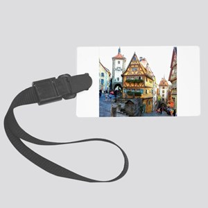 Rothenburg20150903 Large Luggage Tag
