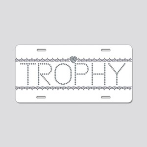 Diamond Trophy Aluminum License Plate
