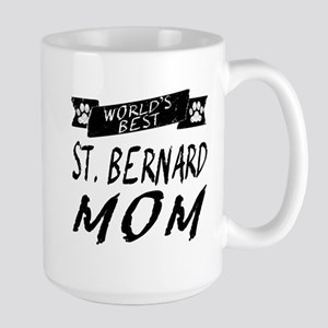 Worlds Best St. Bernard Mom Mugs