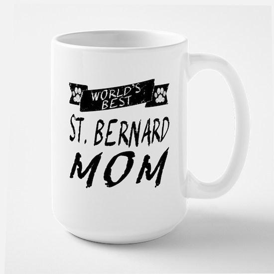 Worlds Best St. Bernard Mom Mugs
