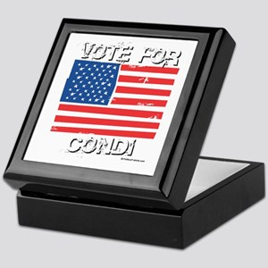 Vote for Condi Keepsake Box
