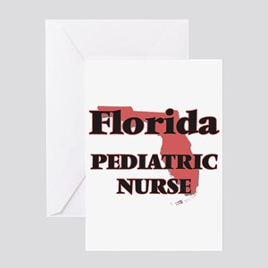 Florida Pediatric Nurse Greeting Cards