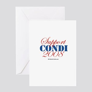 Support Condi Greeting Card