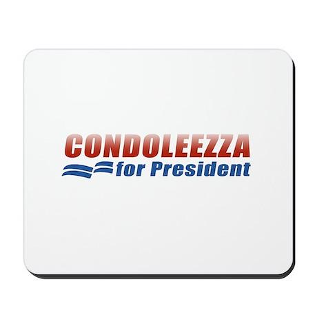 Condoleezza for President Mousepad