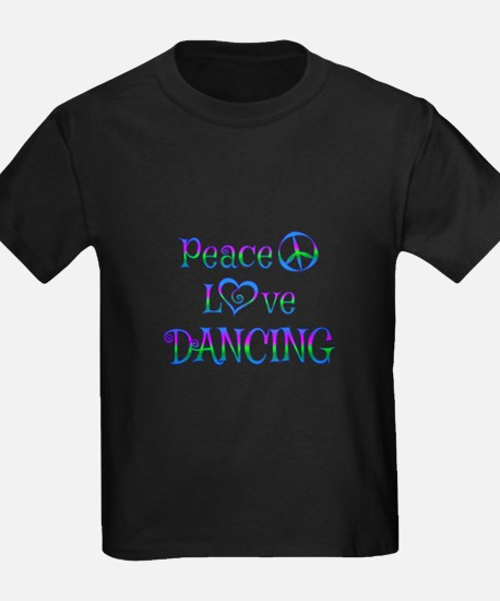 Peace Love Dancing T