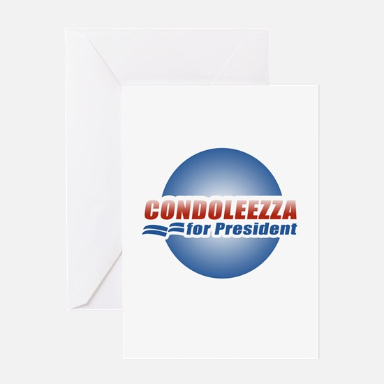 Condoleezza for President Greeting Card