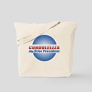 Condoleezza for President Tote Bag