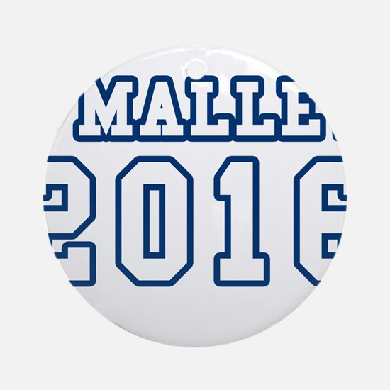 Cool Omalley for president Round Ornament