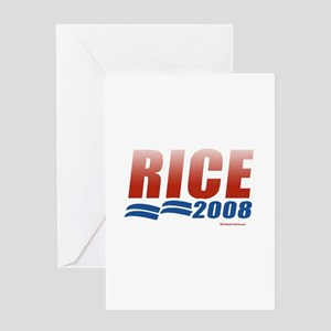 Rice 2008 Greeting Card