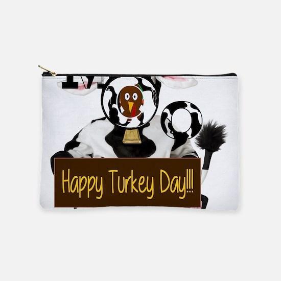 Turkey Day Humor Makeup Bag