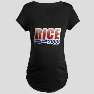Rice 2008 Maternity Dark T-Shirt