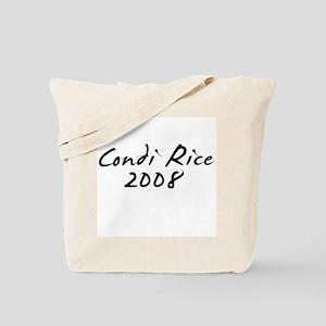 Condi Rice Autograph Tote Bag