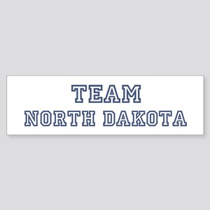 Team North Dakota Bumper Sticker