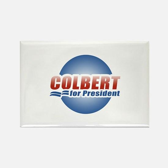 Colbert for President Rectangle Magnet