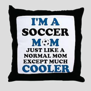 I'M A SOCCER MOM Throw Pillow