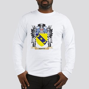 Scott Coat of Arms - Family Cr Long Sleeve T-Shirt