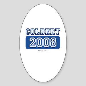 Colbert 2008 Oval Sticker
