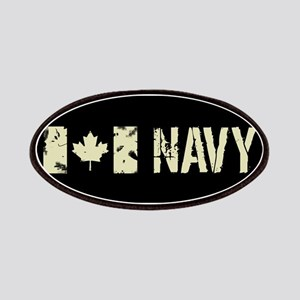 Canadian Flag: Navy Patch