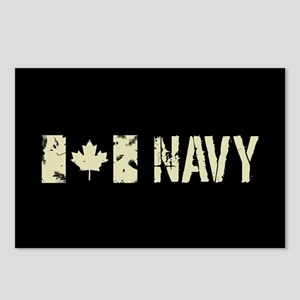 Canadian Flag: Navy Postcards (Package of 8)