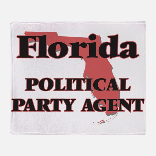 Florida Political Party Agent Throw Blanket