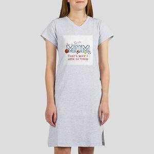 I'M A SPORTS MOM - BASEBALL, FO Women's Nightshirt