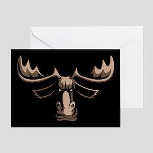 Mad Moose Greeting Card