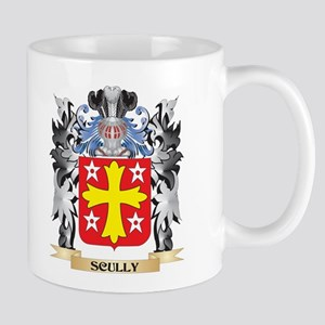 Scully Coat of Arms - Family Crest Mugs