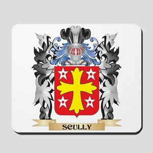 Scully Coat of Arms - Family Crest Mousepad