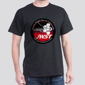 JSWT NASA Program Logo Dark T-Shirt