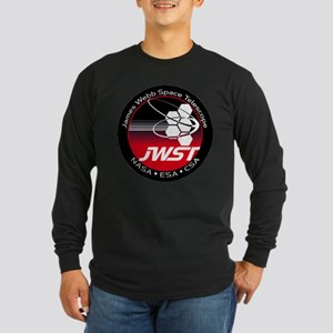 JSWT NASA Program Logo Long Sleeve Dark T-Shirt