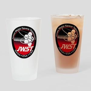 JSWT NASA Program Logo Drinking Glass