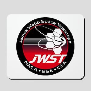 JSWT NASA Program Logo Mousepad