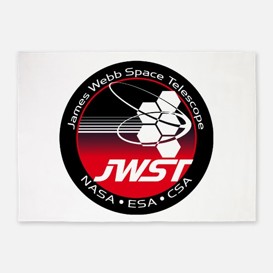 JSWT NASA Program Logo 5'x7'Area Rug