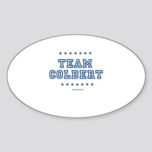 Team Colbert Oval Sticker