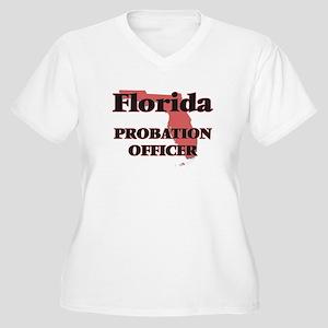 Florida Probation Officer Plus Size T-Shirt