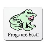 Cute Frogs are Best Love Frog Mousepad