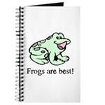 Cute Frogs are Best Love Frog Journal