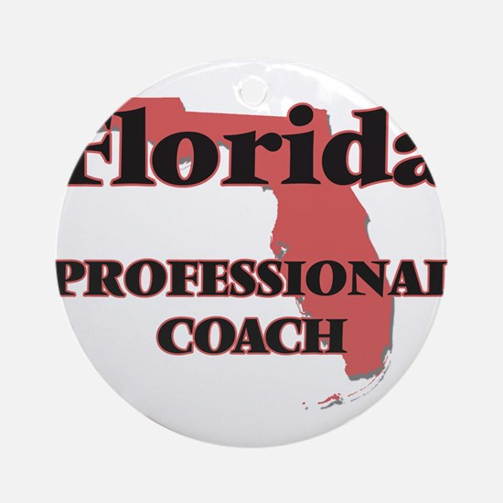 Florida Professional Coach Round Ornament