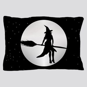 creepy witch Pillow Case