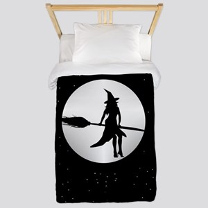 creepy witch Twin Duvet