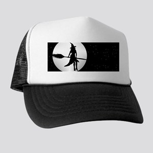 creepy witch Trucker Hat