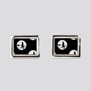 creepy witch Rectangular Cufflinks