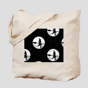 creepy witch Tote Bag