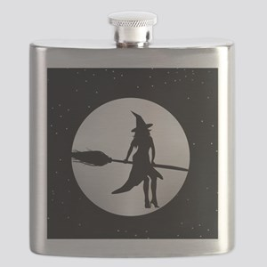 creepy witch Flask