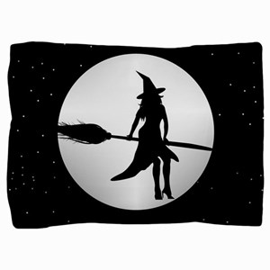 creepy witch Pillow Sham