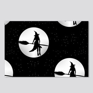 creepy witch Postcards (Package of 8)