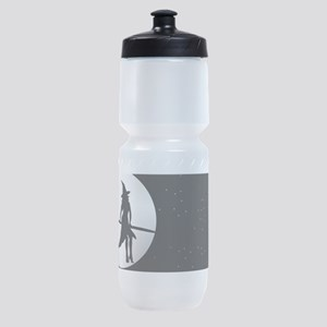 creepy witch Sports Bottle