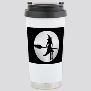 creepy witch Stainless Steel Travel Mug